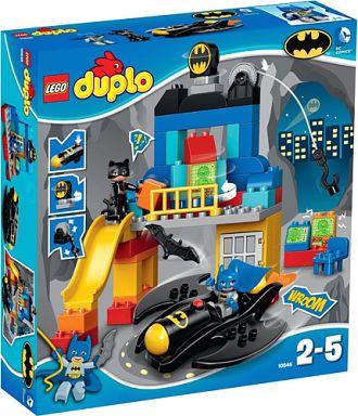 【中古】おもちゃ LEGO バットマンとキャットウーマン 「レゴ デュプロ」 10545