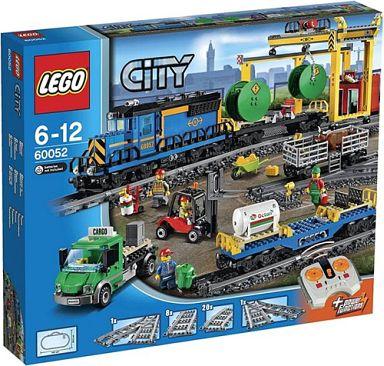 【新品】おもちゃ LEGO カーゴトレイン 「レゴ シティ」 60052