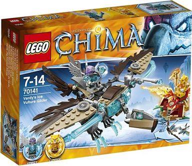 【中古】おもちゃ LEGO バーディのハゲワシ・グライダー 「レゴ チーマ」 70141