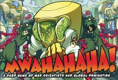 【中古】ボードゲーム ムワッハッハッハ! ?マッドサイエンティストたちの世界征服カードゲーム? (Mwahahaha!)