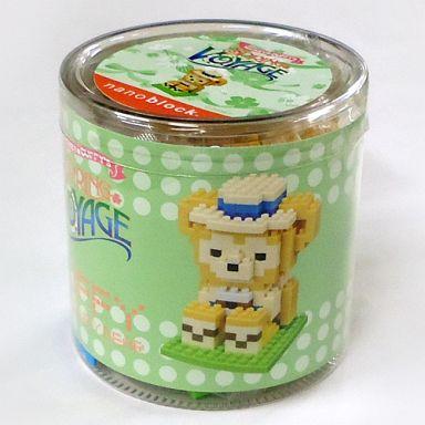 【中古】おもちゃ ナノブロック ダッフィー 「ミッキーとダッフィーのスプリングヴォヤッジ2014」 東京ディズニーシー限定