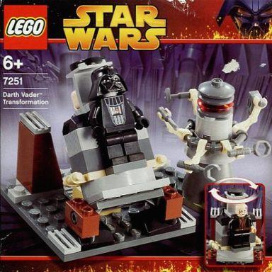 【中古】おもちゃ LEGO ダース・ベイダーへの変身 「レゴ スター・ウォーズ」 7251