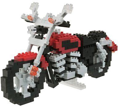 【中古】おもちゃ ナノブロック NBM‐006 モーターサイクル