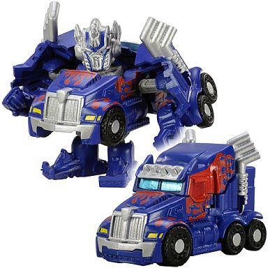 【中古】おもちゃ QT-01 オプティマスプライム(ウェスタンスター 4900SB トラクター) 「Qトランスフォーマー」