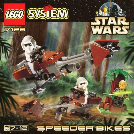 【中古】おもちゃ LEGO SPEEDER BIKES -スピーダー・バイク- 「レゴ システム スター・ウォーズ」 7128