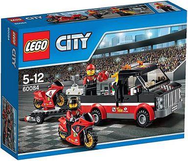 【中古】おもちゃ LEGO レースバイクキャリアー 「レゴ シティ」 60084