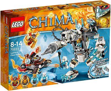 【中古】おもちゃ LEGO アイスバイトのクロードリラー 「レゴ チーマ」 70223