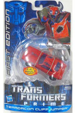 【中古】おもちゃ TERRORCON CLIFFJUMPER -テラーコン クリフジャンパー- 「トランスフォーマープライム」 ファーストエディション