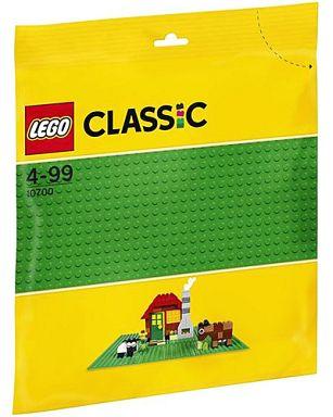 【中古】おもちゃ LEGO 基礎板(グリーン) 「レゴ クラシック」 10700