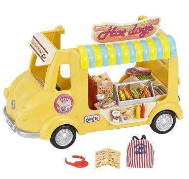 【中古】おもちゃ できたてホットドッグワゴン 「シルバニアファミリー」