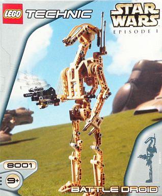 【中古】おもちゃ [ランクB] LEGO バトルドロイド 「レゴ テクニック/スター・ウォーズ」 [8001]
