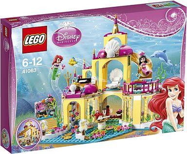 【中古】おもちゃ LEGO リトル・マーメイド アリエルの海の宮殿 「レゴ ディズニー・プリンセス」 41063