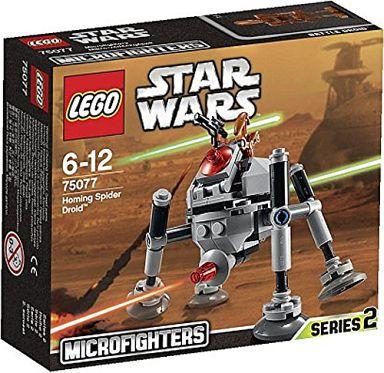 """【中古】おもちゃ LEGO マイクロファイター""""ホーミング・スパイダー・ドロイド"""" 「レゴ スター・ウォーズ」 75077"""