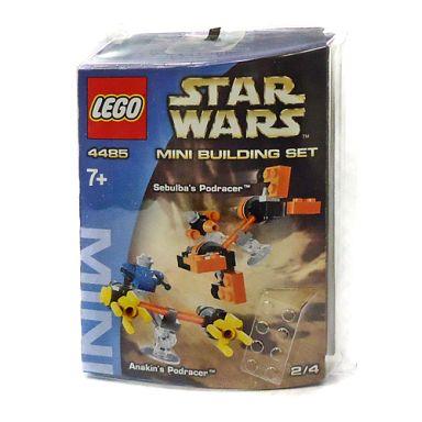 【中古】おもちゃ LEGO ミニビルディングセット アナキンとセブルバのポッドレーサー 「レゴ スター・ウォーズ」 4485