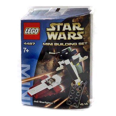 【中古】おもちゃ LEGO ミニビルディングセット スレーブIとジェダイのスターファイター 「レゴ スター・ウォーズ」 4487