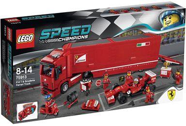 【中古】おもちゃ LEGO F14 T&スクーデリア・フェラーリ トラック 「レゴ スピードチャンピオン」 75913