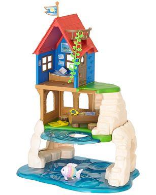 【中古】おもちゃ ぼうけん島のひみつのお家 「シルバニアファミリー」