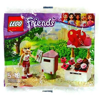 【中古】おもちゃ LEGO ステファニーとメールボックス 「レゴ フレンズ」 30105