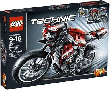 【中古】おもちゃ LEGO モーターバイク 「レゴ テクニック」 8051
