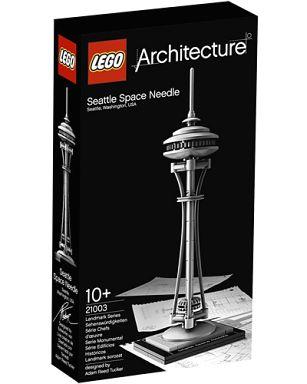 【中古】おもちゃ LEGO シアトル・スペースニードル 「レゴ アーキテクチャー」 21003