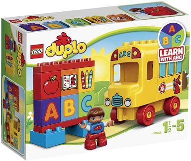 【中古】おもちゃ LEGO はじめてのデュプロ バスとABC 「レゴ デュプロ」 10603