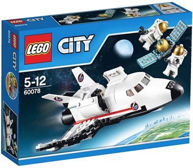 【中古】おもちゃ LEGO スペースシャトル 「レゴ シティ」 60078