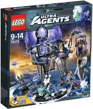 【中古】おもちゃ LEGO アンチマターのポータルハイドアウト 「レゴ ウルトラ・エージェント」 70172