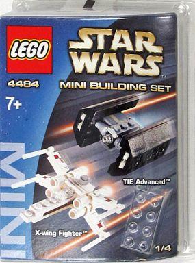 【中古】おもちゃ LEGO ミニビルディングセット Xウイングファイター&TIEアドヴァンスト 「レゴ スター・ウォーズ」 4484
