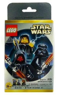 【中古】おもちゃ LEGO ダースモール&ダースベーダー&パルパティーン ミニフィギュアセット 「レゴ スター・ウォーズ」 3340