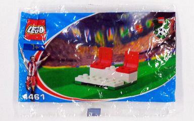 【中古】おもちゃ LEGO コカ・コーラ ベンチ 「レゴ サッカー」 4461