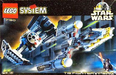 【中古】おもちゃ [ランクB] LEGO TIE Fighter&Y-wing -タイ・ファイター&Yウイング- 「レゴ スター・ウォーズ」 7150