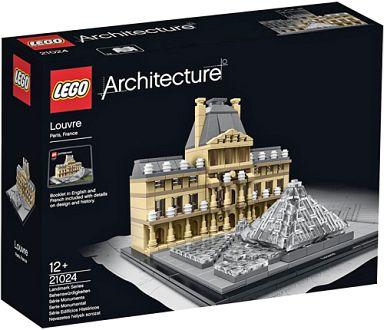 【中古】おもちゃ LEGO ルーブル美術館 「レゴ アーキテクチャー」 21024