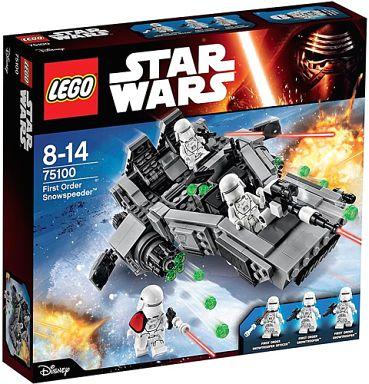 【中古】おもちゃ LEGO ファースト・オーダー・スノースピーダー 「レゴ スター・ウォーズ」 75100
