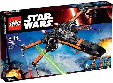 【中古】おもちゃ LEGO ポーのXウィング・ファイター 「レゴ スター・ウォーズ」 75102