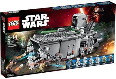 【中古】おもちゃ LEGO ファースト・オーダー・トランスポーター 「レゴ スター・ウォーズ」 75103