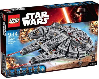 【中古】おもちゃ LEGO ミレニアム・ファルコン 「レゴ スター・ウォーズ」 75105