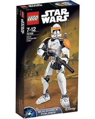 【新品】おもちゃ LEGO クローン・コマンダー・コーディ 「レゴ スター・ウォーズ」 75108