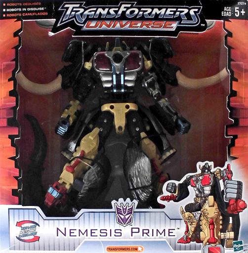 【中古】おもちゃ ネメシスプライム 「トランスフォーマー ユニバース」