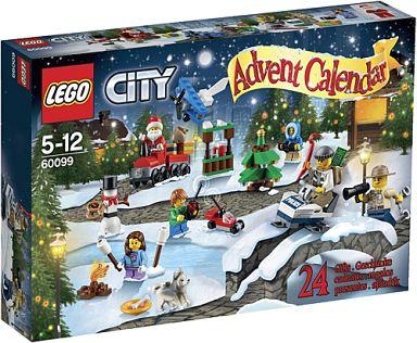 【中古】おもちゃ LEGO レゴ シティ アドベントカレンダー 「レゴ シティ」 60099