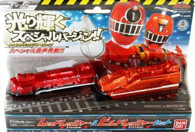 "Red Lessher Special ver. & Build Lesser - Special ver. Set ""Train Sentai Tokusyu Jar"" TV Asahi Limited"
