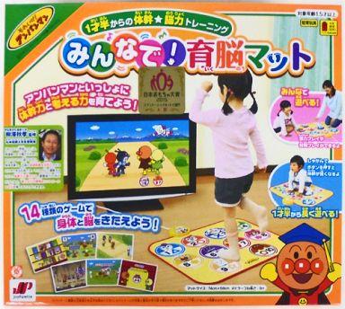 【中古】おもちゃ [ランクB] 1歳半からの体幹☆脳力トレーニング みんなで!育脳マット 「それいけ!アンパンマン」