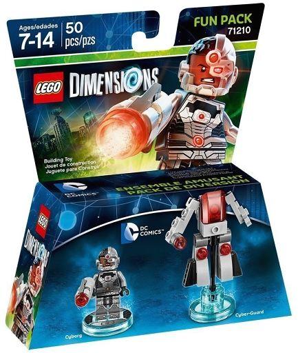 【新品】おもちゃ LEGO DC サイボーグ ファンパック 「レゴ ディメンションズ」 71210