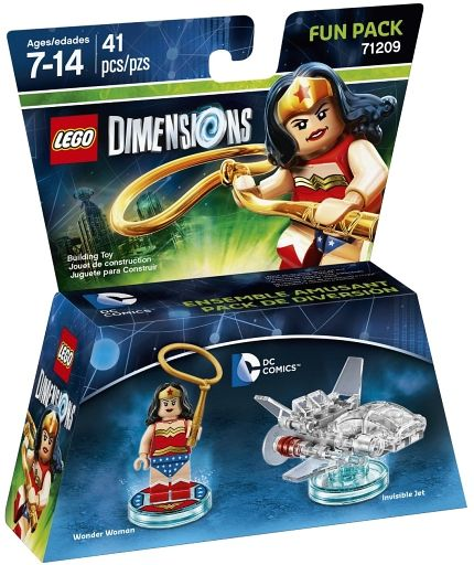 【中古】おもちゃ LEGO DC ワンダーウーマン ファンパック 「レゴ ディメンションズ」 71209