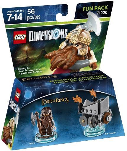 【新品】おもちゃ LEGO ロード・オブ・ザ・リング ギムリパック 「レゴ ディメンションズ」 71220
