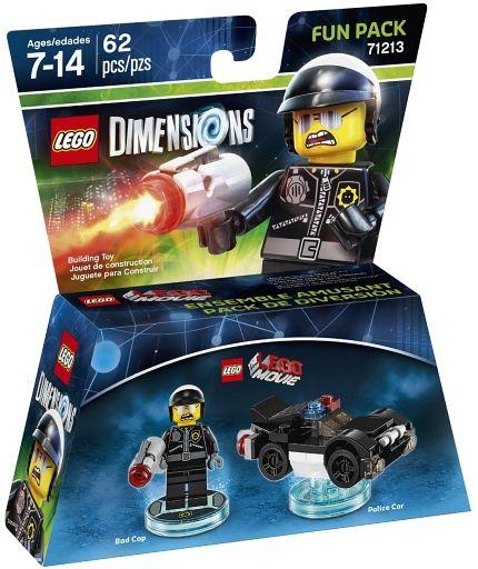 【中古】おもちゃ LEGO レゴ ムービー バッド・コップ ファンパック 「レゴ ディメンションズ」 71213