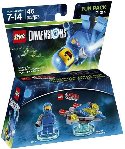 【中古】おもちゃ LEGO レゴ ムービー ベニー ファンパック 「レゴ ディメンションズ」 71214