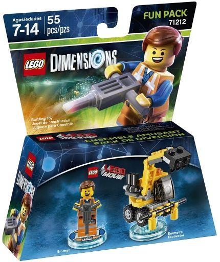 【新品】おもちゃ LEGO レゴ ムービー エメット ファンパック 「レゴ ディメンションズ」 71212