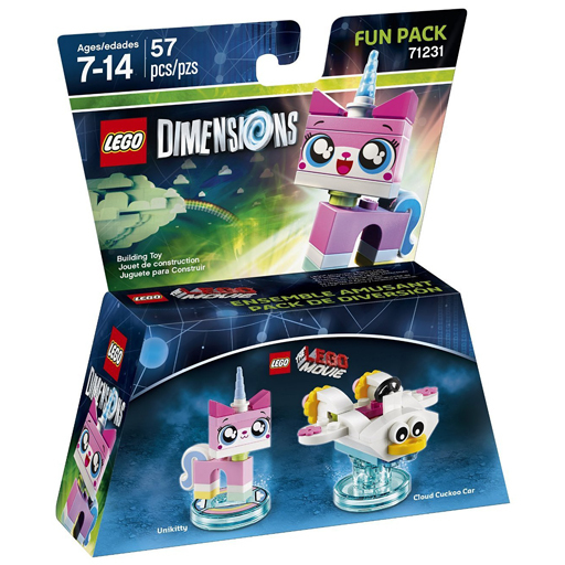 【中古】おもちゃ LEGO レゴ ムービー ユニキャット ファンパック 「レゴ ディメンションズ」 71231