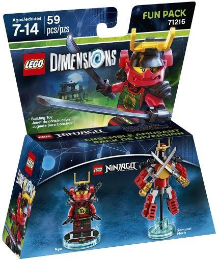 【中古】おもちゃ LEGO レゴ ニンジャゴー ニャー ファンパック 「レゴ ディメンションズ」 71216