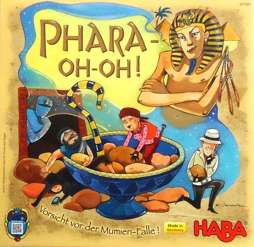 【中古】ボードゲーム ファラ・オー・オー! (Phara-oh-oh!)